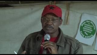 Boaz Warugu speech on Katiba day