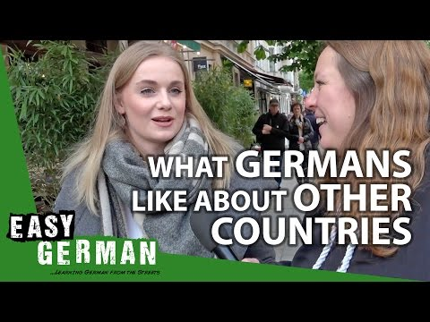 What Germans like about other Countries | Easy German 195