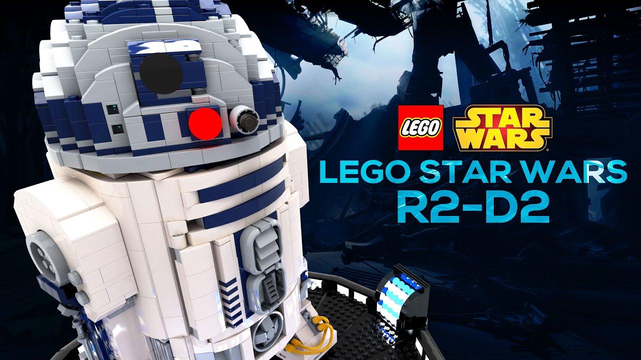#Lego Star Wars - R2-D2 (75308) Digital Speed Build 4K