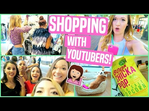 SHOPPING WITH YOUTUBERS AT THE GROVE!!!