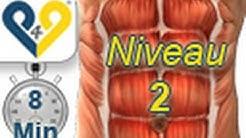 Perfektes Bauchmuskeltraining in 8 minuten, Niveau 2