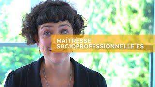 Annie - Maîtresse socioprofessionnelle ES