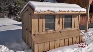 4' X 8' Backyard Chicken Coops | Delivering Throughout Ottawa, Kingston, Belleville, Peterborough