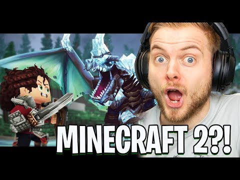 MINECRAFT SEQUEL?!! (HYTALE TRAILER REACTION)