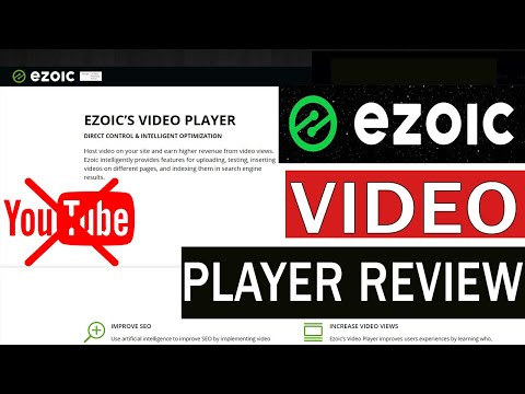 EZOIC Video Player Review & Full Setup: Earn More Money from Videos | Best YouTube Alternative - YouTube
