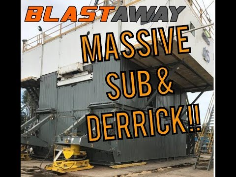 Stacking Sub Drilling Rig | INSIDE LOOK 043 | Painted with Jones Blair Industrial Coatings