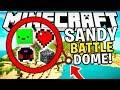 SANDY BEACH MODDED SANDY ISLAND BATTLEDOME TECH GUNS WEAPONS - MINECRAFT 1.12.2 MODDED BATTLEDOME