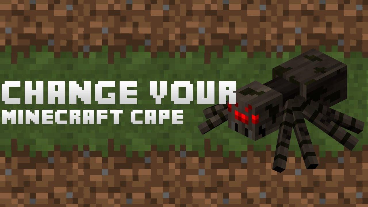 minecraft how to get a cape no mods