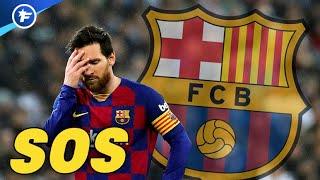 La mauvaise passe de Lionel Messi fait parler à Barcelone | Revue de presse