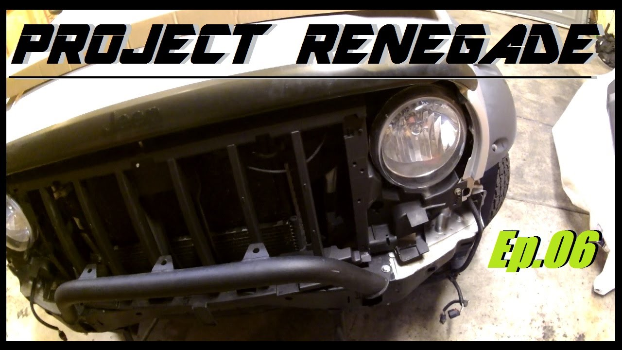 maxresdefault jeep liberty bull bar, front bumper & grille install, project