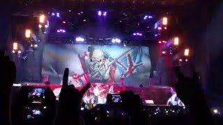 "Iron Maiden - ""The Trooper"" (Santiago, Chile 2016)"
