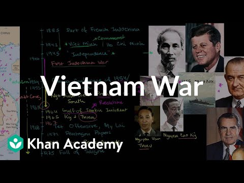 Vietnam War | The 20th century | World history | Khan Academy