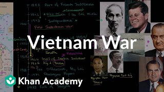 Sal gives an overview of the Vietnam War. Created by Sal Khan. Watc...