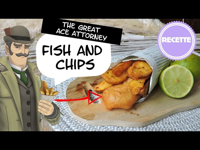 Recette : Fish and chips de The Great Ace Attorney