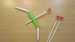 How to make a Paper Crossbow - Easy Tutorials