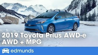 2019 Toyota Prius AWD-e | All-Wheel Drive to Broaden Its Appeal | First Drive Review