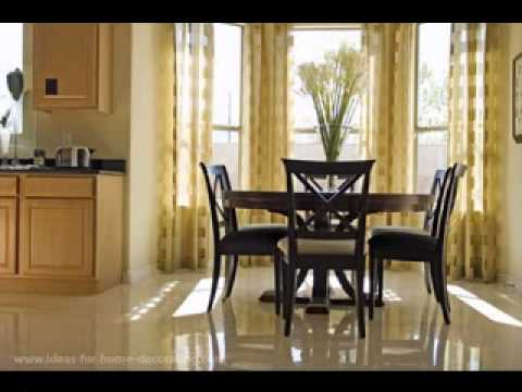 Diy Dining Room Curtain Decorating Ideas Youtube