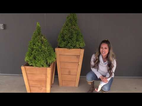 build-your-own-tall-wood-planters