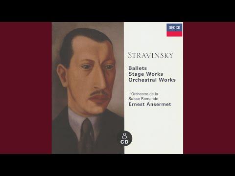 Stravinsky: Capriccio For Piano & Orchestra - 2. Andante Rapsodico (Revised Version 1949)