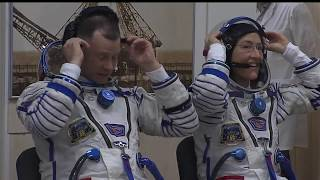 NASA Television Video File  Expedition 59-60 Soyuz MS 12 Launch