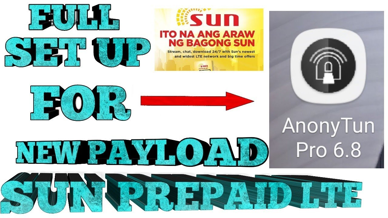 Download FREE INTERNET UPDATE|NEW PAYLOAD FOR SUN PREPAID LTE