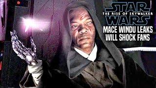 The Rise Of Skywalker Mace Windu Leaks Will Shock Fans! (Star Wars Episode 9)
