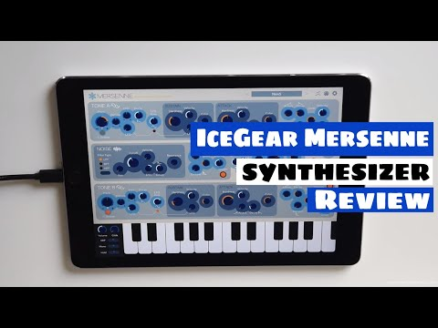 IceGear Mersenne Percussive FM Synthesizer Review & New Presets