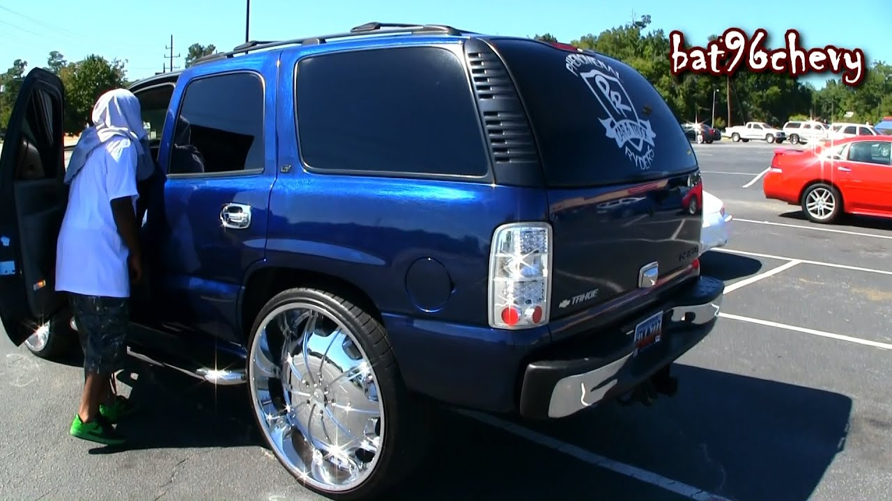 Candy Bowling Ball Blue Chevy Tahoe On 30 S 21