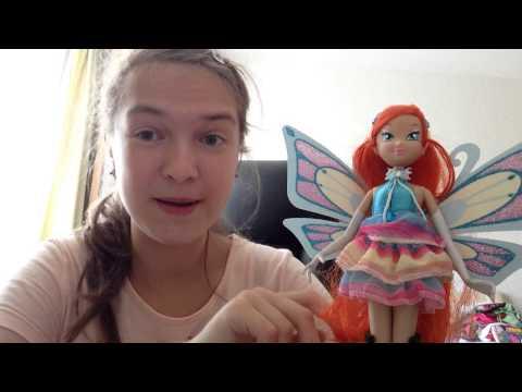 Видео-обзор куклы Винкс Блум Энчантикс от Геочи