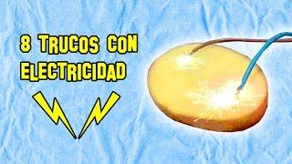 8 Trucos con Electricidad Que No Conocías - Experimentos Caseros - LlegaExperimentos thumbnail