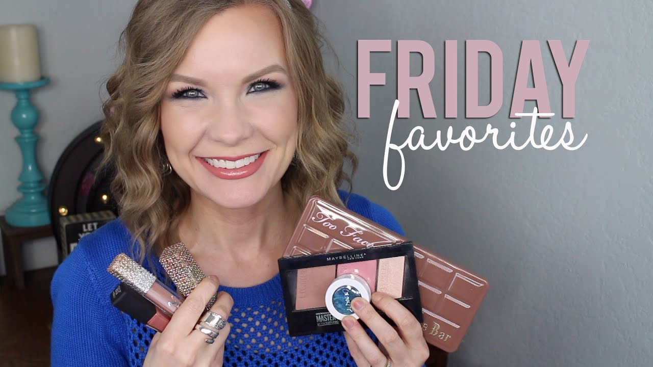 Friday Favorites 1-15-16 Too Faced, Colourpop, Maybelline, YBF Beauty, Etc | LipglossLeslie