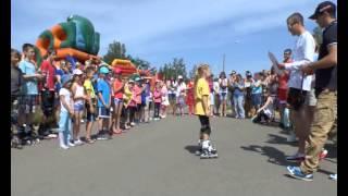 Скоростной слалом на роликах, Черноголовка 1 06 2014