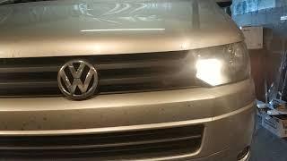 163  Volkswagen T5 Часть 1 , линзы , ксенон