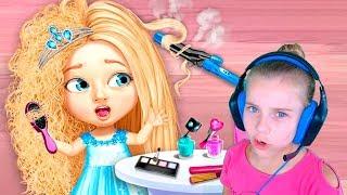 Новые игры для девочек Салон красоты для девочек