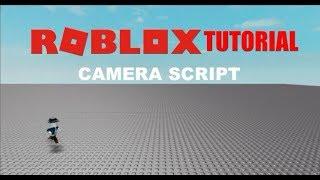 roblox tutoriel script caméra 2D