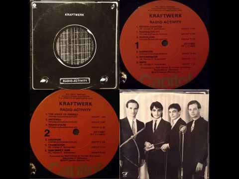 Kraftwerk - Radio-activity ( Full album vinyl rip )
