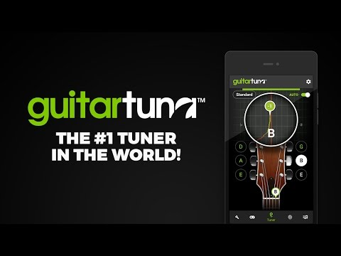 GuitarTuna - Tuner for Guitar Ukulele Bass & more! - Apps on