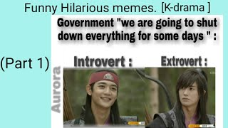 Funny hilarious memes. (K-drama ) #kdrama #memes