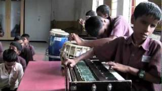 Blind School Music Class + Project Ahimsa | Gandhinagar, Gujarat | India