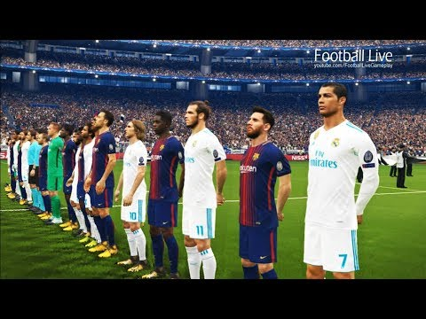 Thumbnail: PES 2018 | Final UEFA Champions League [UCL] | Real Madrid vs Barcelona | Gameplay PC