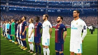 PES 2018 | Final UEFA Champions League [UCL] | Real Madrid vs Barcelona | Gameplay PC