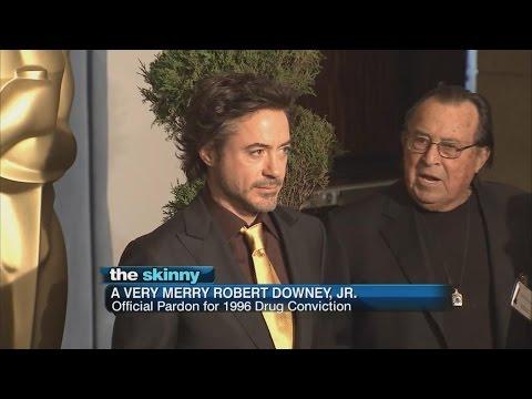 Robert Downey Jr.  Pardoned for Drug Conviction | ABC News