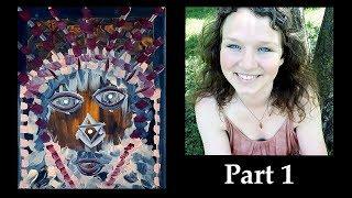 Painting Archangel Metatron PART 1 💠 Energy Activating Portrait