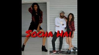 Socha Hai | Baadshaho | Choreographed by Hemin Mistry ft. Riya Patel | Socha hai Dance Choreography
