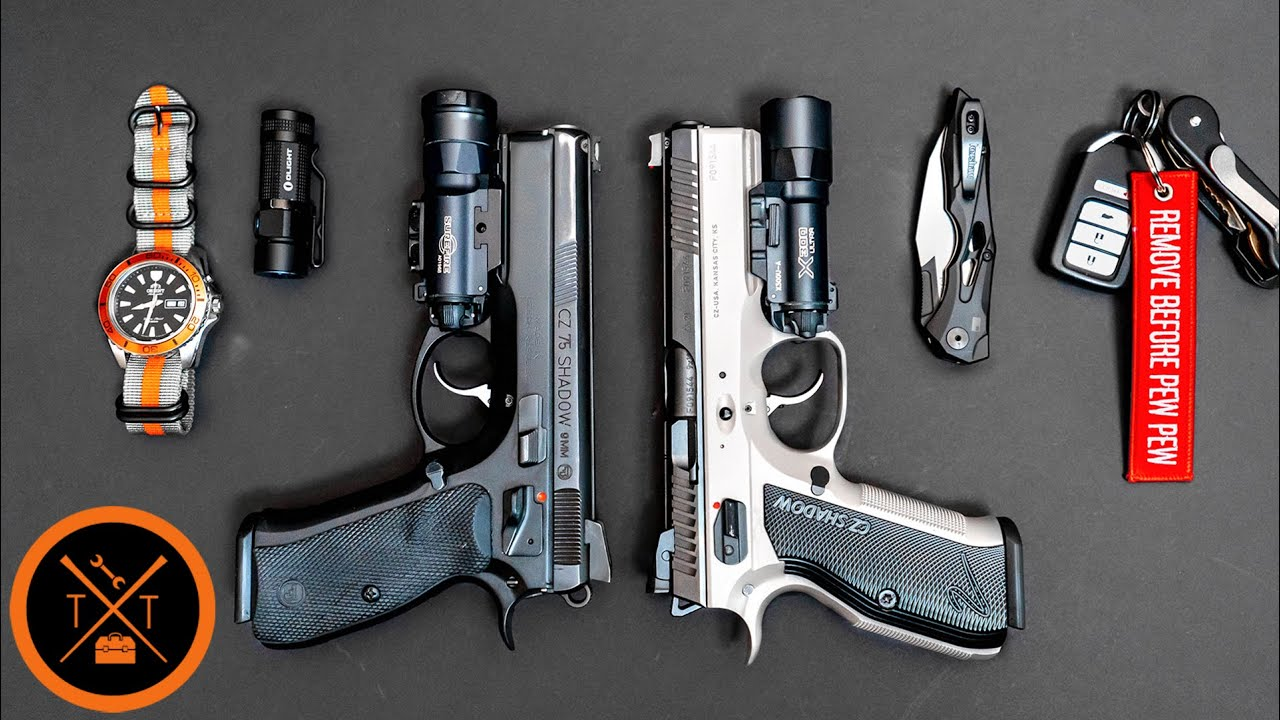 Everyday Carry Gun - Truffle Butter Vs. Periwinkle