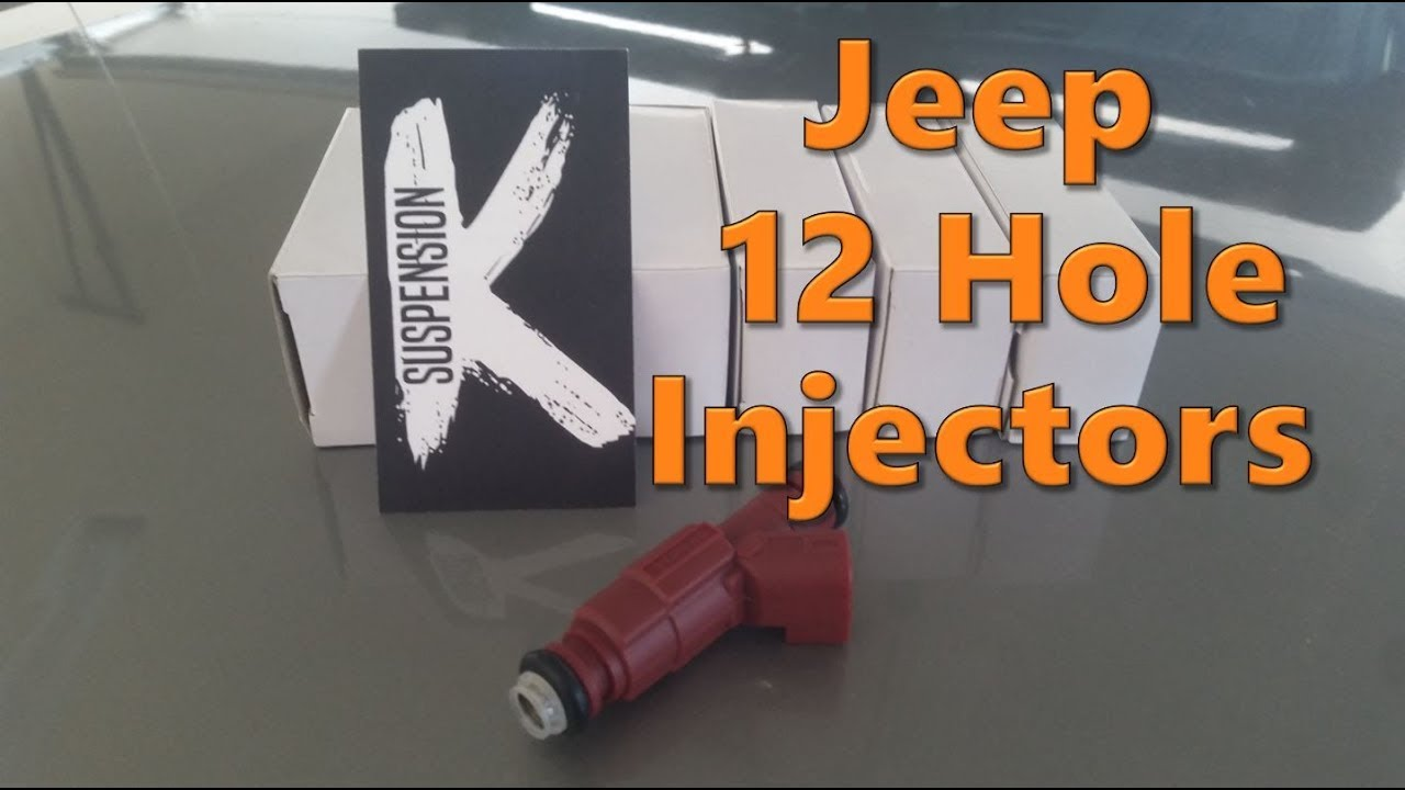 Jeep 4 0L 12 Hole Injector Swap