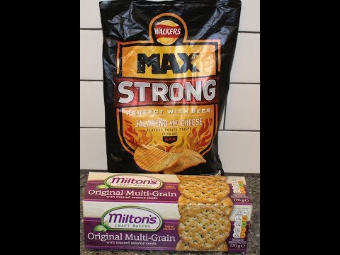 walkers-max-strong-jalapenos-and-cheese-potato-crisps-&-milton's-multi-grain-baked-crackers