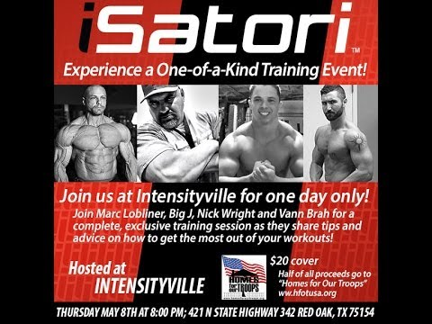 INTENSITYVILLE meet and greet INFO- Dallas EUROPA 2014- May 8th,9th & 10th