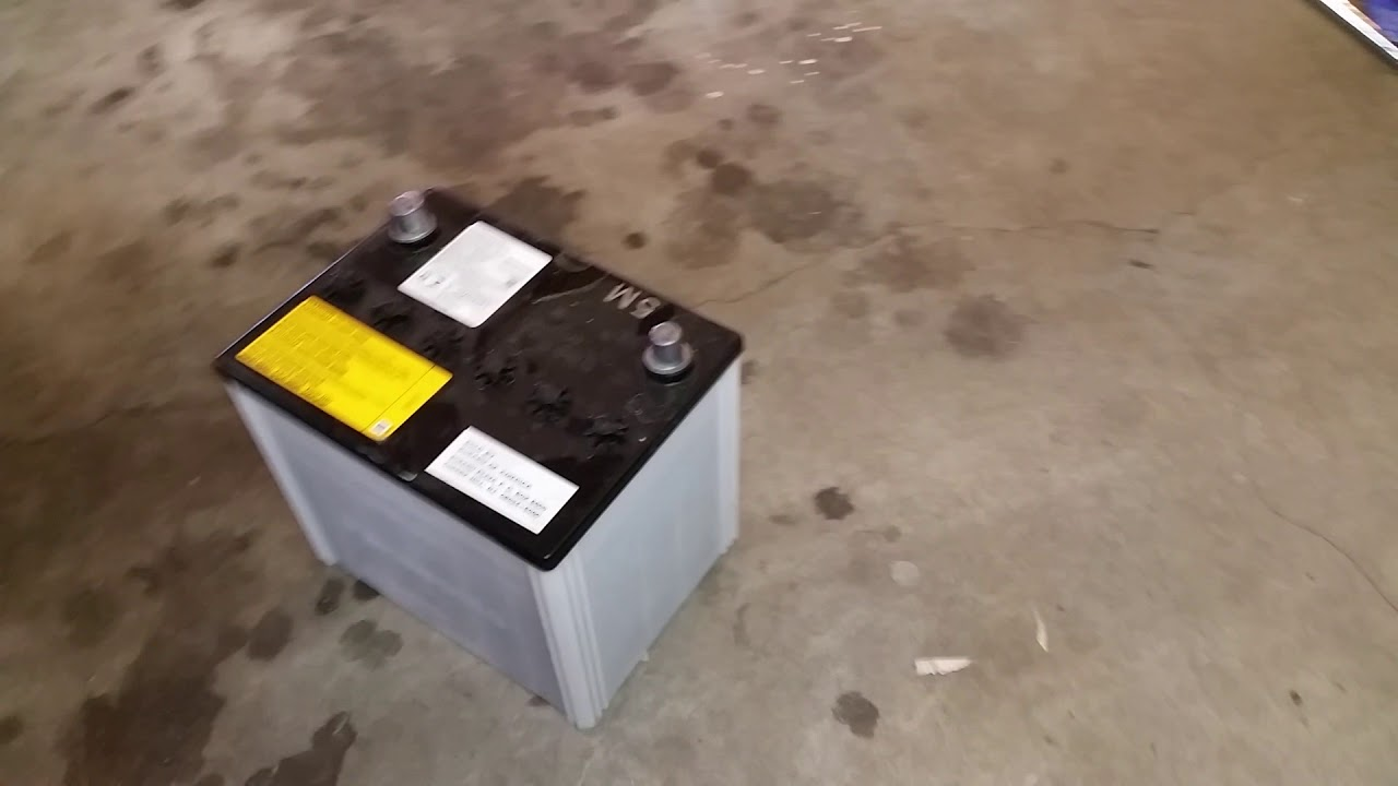 2014-2018 Subaru Forester SUV - 12V Automotive Battery Removed - FB25 2 5L  Engine