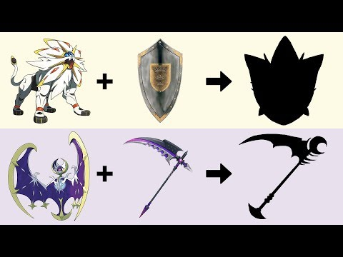 Pokemon as Weapons Requests #3: Solgaleo and Lunala